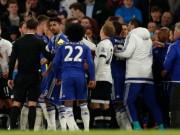 Bóng đá - Vuột ngai vàng, sao Tottenham gây sự với Chelsea