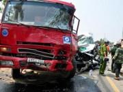 Tin tức trong ngày - TNGT 4 người chết ở Quảng Ngãi: Xe khách cố vượt