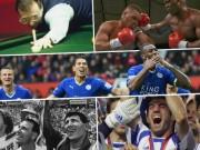 """Bóng đá - Leicester & top 10  """"thần thoại"""" của thể thao thế giới"""