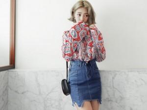 4 mẫu váy mới lạ cho nữ công sở hè này