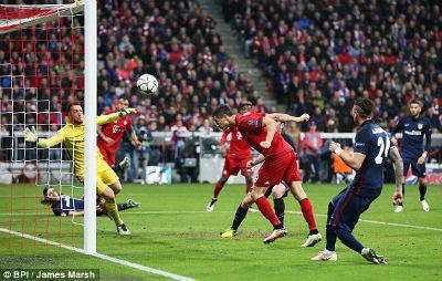Chi tiết Bayern Munich - Atletico Madrid: Kịch tính cao độ (KT) - 9