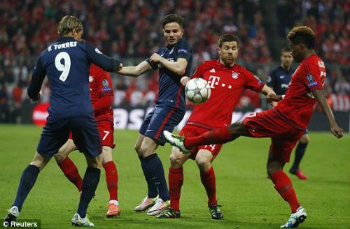 Video Bayern Munich vs Atletico Madrid - 1
