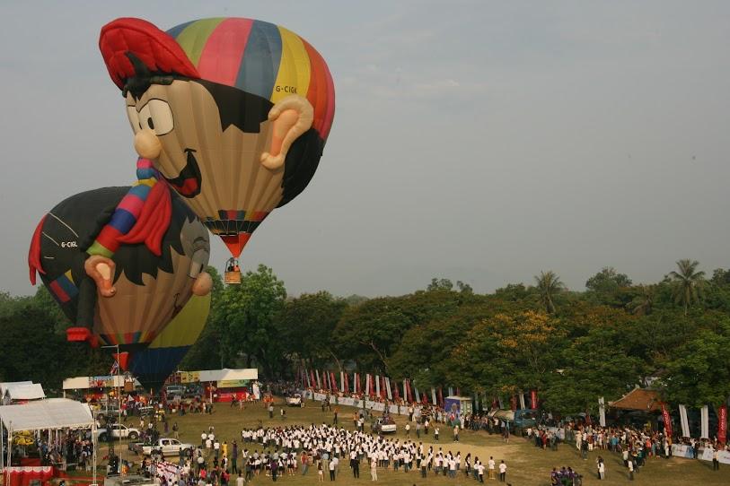 Độc đáo: Ngắm toàn cảnh cố đô Huế từ khinh khí cầu - 3