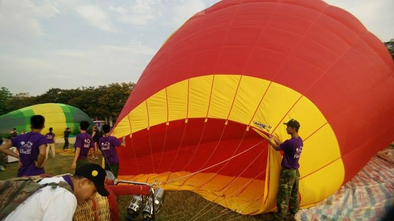Độc đáo: Ngắm toàn cảnh cố đô Huế từ khinh khí cầu - 6