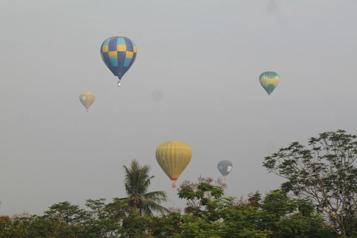 Độc đáo: Ngắm toàn cảnh cố đô Huế từ khinh khí cầu - 9
