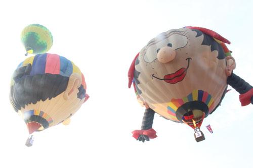 Độc đáo: Ngắm toàn cảnh cố đô Huế từ khinh khí cầu - 10