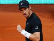 Thể thao - Madrid Open ngày 2: Murray khởi đầu gian nan