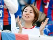 """Bóng đá - Công Vinh cùng người đẹp Nhật """"toả sáng"""" ở Gò Đậu"""