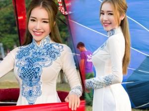 Elly Trần e ấp đường cong ở Festival Huế