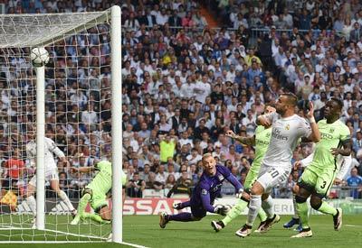 Chi tiết Real Madrid - Man City: Aguero sút vọt xà (KT) - 5