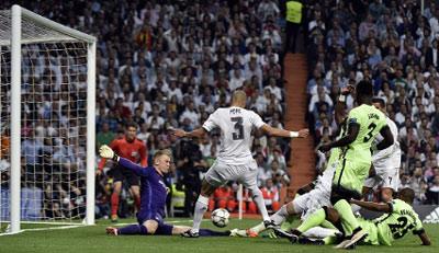 Chi tiết Real Madrid - Man City: Aguero sút vọt xà (KT) - 6