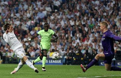 Chi tiết Real Madrid - Man City: Aguero sút vọt xà (KT) - 8