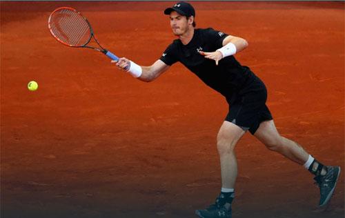 Madrid Open ngày 4: Murray thắng dễ - 1