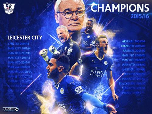 Leicester vô địch: Từ vịt hóa thiên nga - 1
