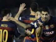 """Barca: 2 bước là tới """"thiên đường"""""""