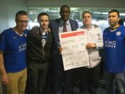 Bóng đá - Nhiều fan vớ bẫm nhờ đặt cửa Leicester vô địch