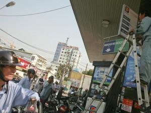 Xăng dầu đồng loạt tăng giá kể từ 15 giờ chiều 5.5