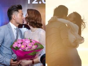 Minh Hằng - Quý Bình tình tứ từ phim ra đời thật