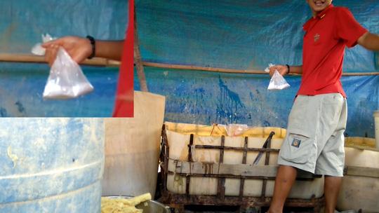 Video clip: Khiếp đảm công nghệ sơ chế măng thối - 7