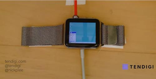 Windows 95 chạy trên Apple Watch trông thế nào? - 1