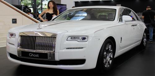 Rolls-Royce Ghost Series II lần đầu tới Hà Nội có gì? - 1