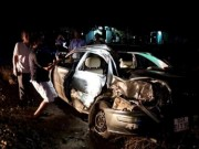 Tin tức trong ngày - Tàu hỏa tông ô tô, cả gia đình viếng đám tang gặp nạn