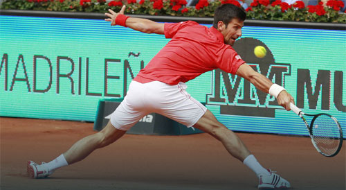 Djokovic – Raonic: Chỉ cần 2 break (TK Madrid Open) - 1