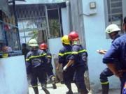 Tin tức trong ngày - Tai nạn hi hữu, xe máy đổ vào bếp ga mini phát hỏa