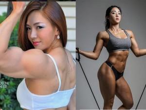 """3 mỹ nữ Hàn Quốc """"đốt nóng"""" phòng gym nhờ vẻ đẹp sexy"""