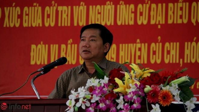 Ông Đinh La Thăng đề nghị giám sát lời hứa của mình - 1