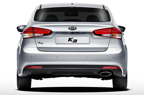 KIA Cerato 2016 ra mắt 3 phiên bản, giá từ 615 triệu - 2