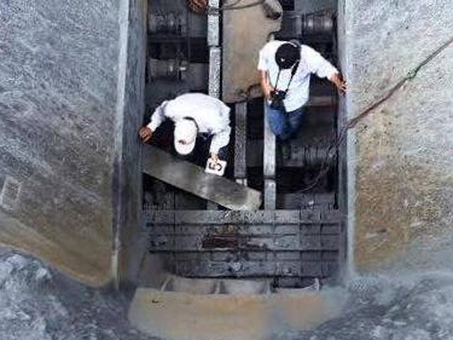 Một công nhân chết thảm khi sửa băng chuyền đá vôi - 1
