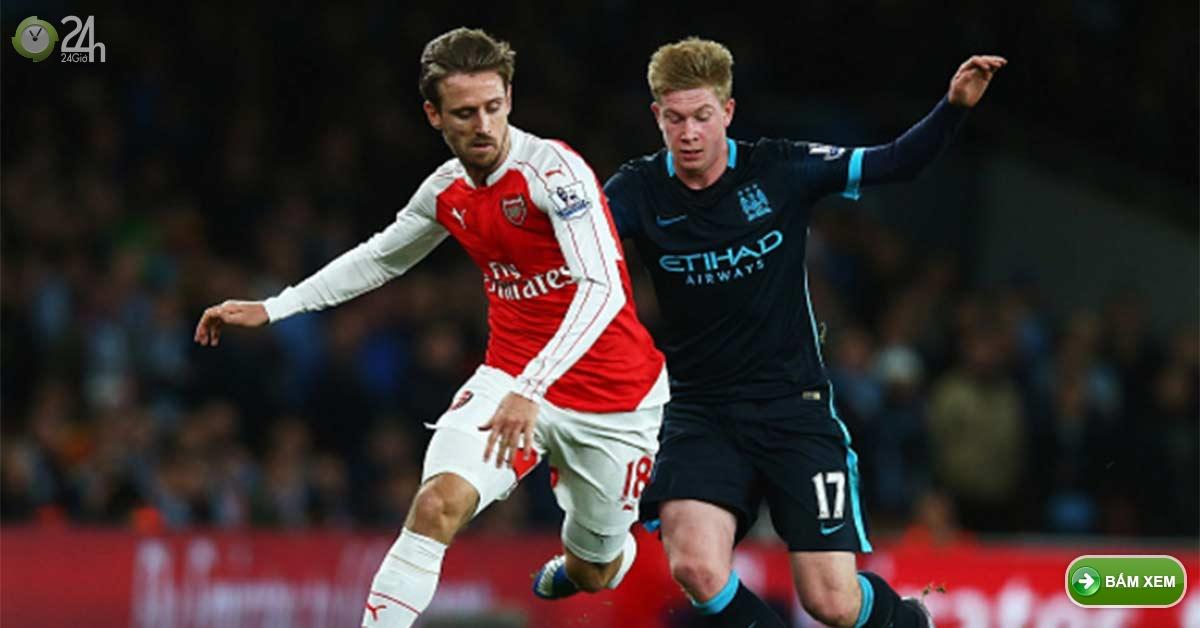 Kết quả Man City vs Arsenal - Link xem bóng đá trực tuyến