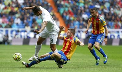 Chi tiết Real Madrid - Valencia: Hy vọng vụt tắt (KT) - 3