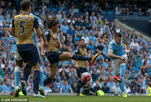 Video Man City vs Arsenal - 1
