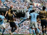 Bóng đá - Chi tiết Man City - Arsenal: Vận đen đeo bám (KT)