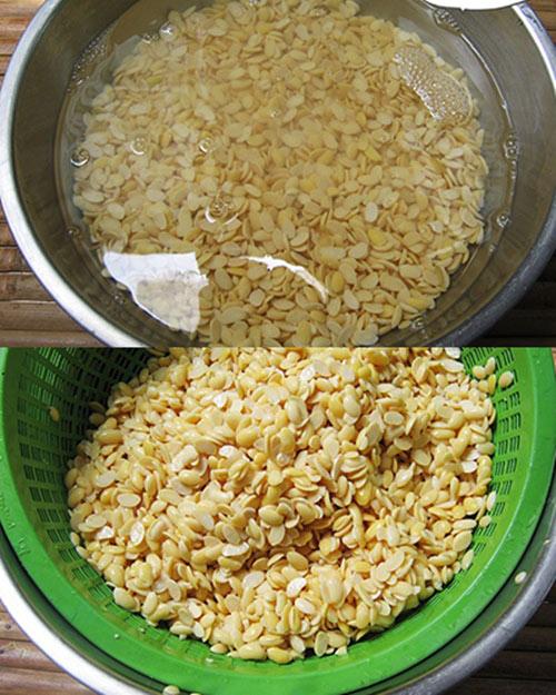 Cách làm sữa đậu xanh lá dứa thơm ngon, mát lành - 2