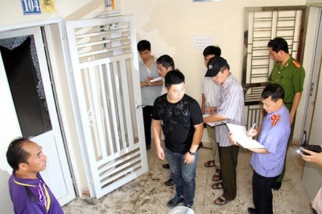 Vụ nổ ở Chung cư ở Lào Cai - 2 vợ chồng dùng xăng tự sát - 1