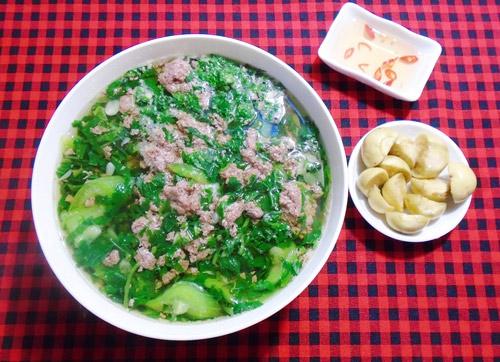 Canh cáy nấu mướp, rau đay ngọt mát - 6