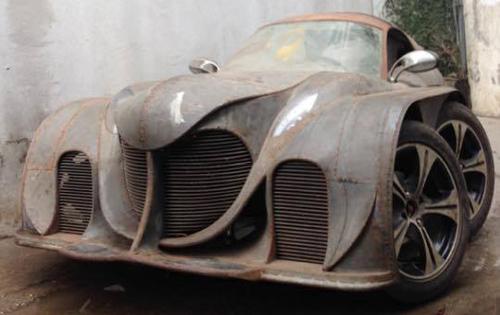 Xuất hiện xe 5 bánh tự chế quái dị ở Việt Nam - 4
