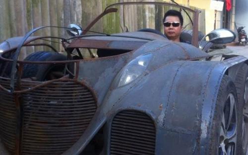 Xuất hiện xe 5 bánh tự chế quái dị ở Việt Nam - 7