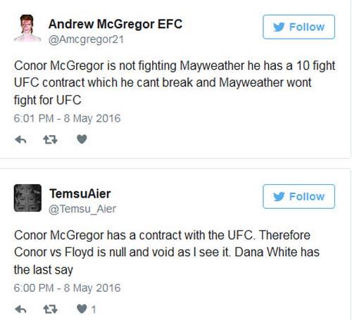 """Bị cản, trận Mayweather - """"Gã điên UFC"""" vẫn tiến - 2"""