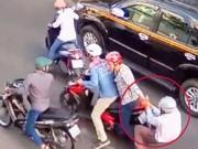 An ninh Xã hội - Bắt 3 đối tượng dùng roi điện cướp xe trên đường phố