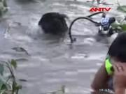 Video An ninh - Nhậu xong tắm sông, một thanh niên chết đuối