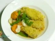 Ẩm thực - Đùi gà nấu đậu ngự chay thơm ngon chào tuần mới