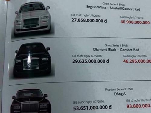 Vì sao Rolls-Royce Phantom Đông A có giá 83,8 tỉ đồng? - 2