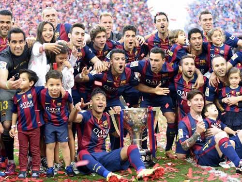 Barca đua vô địch Liga: Điềm lành vòng cuối - 1