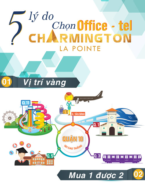 5 lý do chọn Office-tel Charmington La Pointe - 1