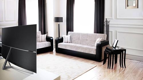 Biến tấu không gian phòng khách với TV Samsung SUHD 2016 - 3