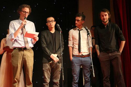 Trao giải LHP liên trường quốc tế Olympia Film Festival 2016 - 2